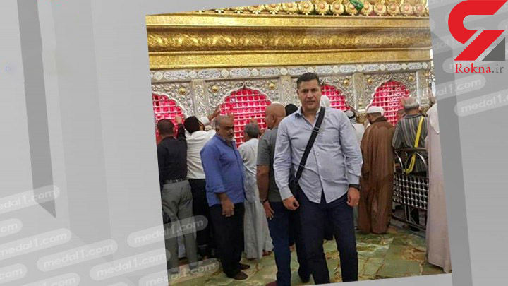 علی دایی در عراق دیده شد + عکس