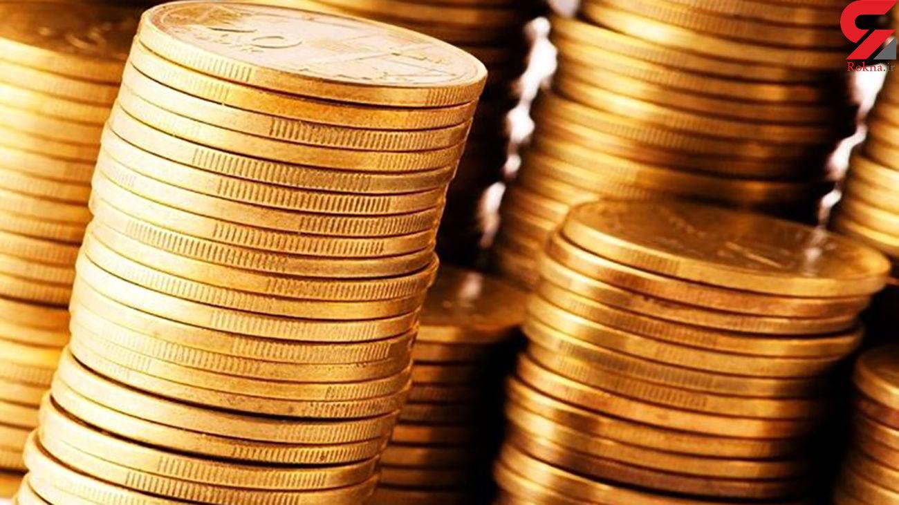 قیمت سکه و قیمت طلای 18 عیار امروز پنجشنبه 17 مهر ماه 99