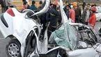 تصادف خونین در بوئین زهرا با 3 مصدوم
