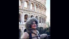 تیپ خاص کمند امیرسلیمانی در رم ایتالیا+عکس