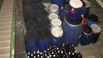 تولید مشروبات الکلی در میدان میوه و تره بار تهران +عکس