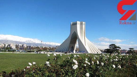 هوای تهران امروز سالم است
