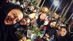 سلفی یادگاری کیمیا علیزاده با بازیگران زن ایرانی در مراسم تجلیلش! +عکس