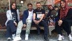 سوپراستار زن سینما در کنار محمدرضاگلزار در سفره خانه سنتی +عکس