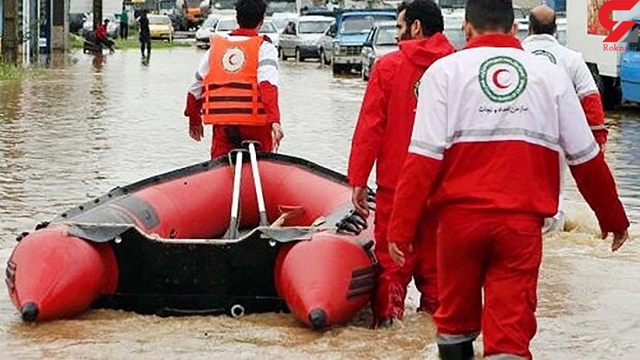 فوت و مفقود شدن 8 نفر در کشور طی حوادث جوی 6 روز گذشته