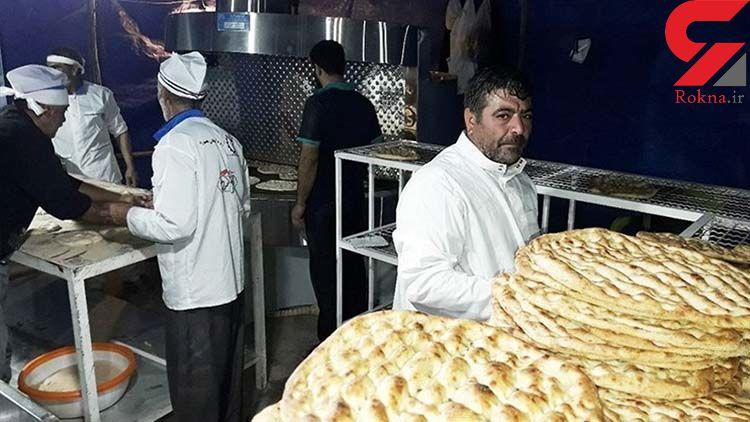 ۶۲۸ واحد نانوایی متخلف در مازندران شناسایی شد