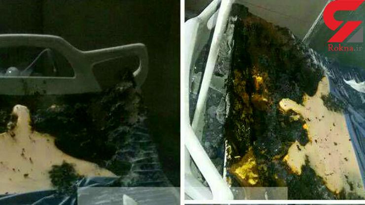آتشسوزی در بخش ایزوله بیمارستان ولیعصر(عج) خرمشهر+ عکس