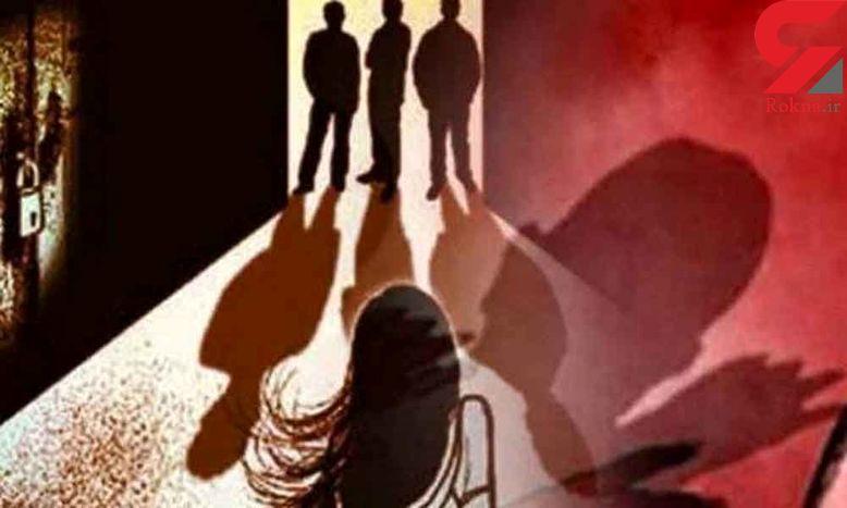 تجاوز  سه مرد به دختر 14 ساله باکره