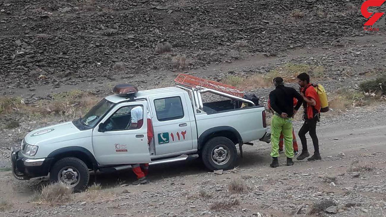 12 ساعت جدال با مرگ در غار  قلعه جمال گلپایگان   + فیلم عملیات نجات و عکس ها