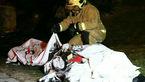 مرگ دردناک ۲ سرنشین جوان خودروی پژو 207 شعله ور در اتوبان همت  + فیلم و عکس