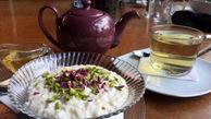 در ماه رمضان شیر برنج خانگی با تزئین گل سرخ بپزید!