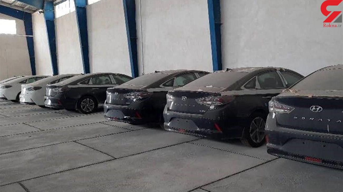 کشف خودروهای فاقد پلاک در کرج