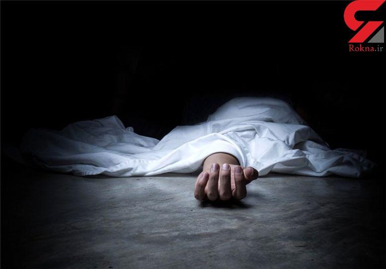 جسد دختر 20 ساله ای را  در  پتو  پیچانده بودند