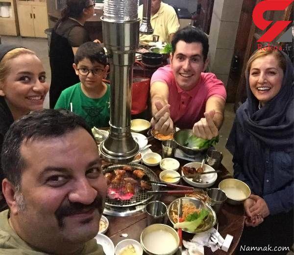 پرونده طلاق شقایق دهقان و مهراب قاسمخانی چگونه ورق خورد؟ / شقایق زن بابای خوبی بود ! + عکس