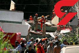 3 کشته و 8 زخمی در ریزش ساختمان + عکس