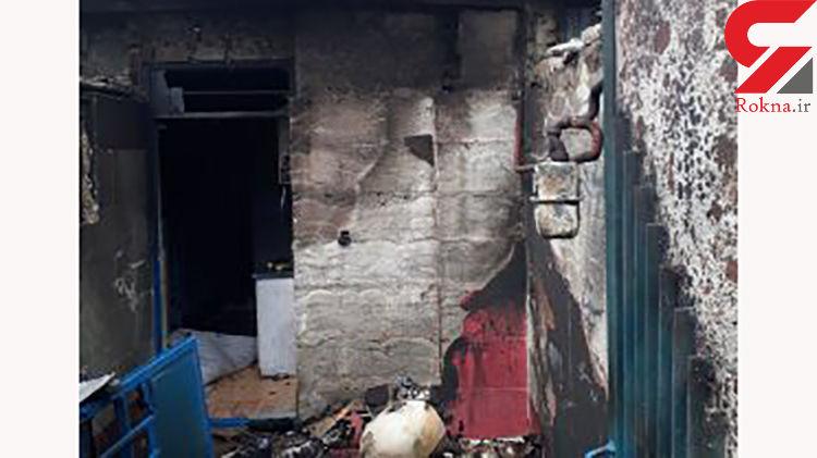 نشت بنزین موتورسیکلت خانهای را در مشهد به آتش کشید
