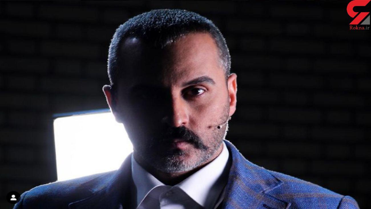 علیرام نورایی کیک تولد 44 سالگی اش را فوت کرد