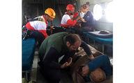 ۷ کوهنورد در کوه های چاه برف کرمان از مرگ برگشتند+ عکس
