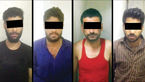 این 4 مرد شب ها با شمشیر و تبر حمله می کردند / در باغ جاده قوچان چه گذشت؟ +  عکس