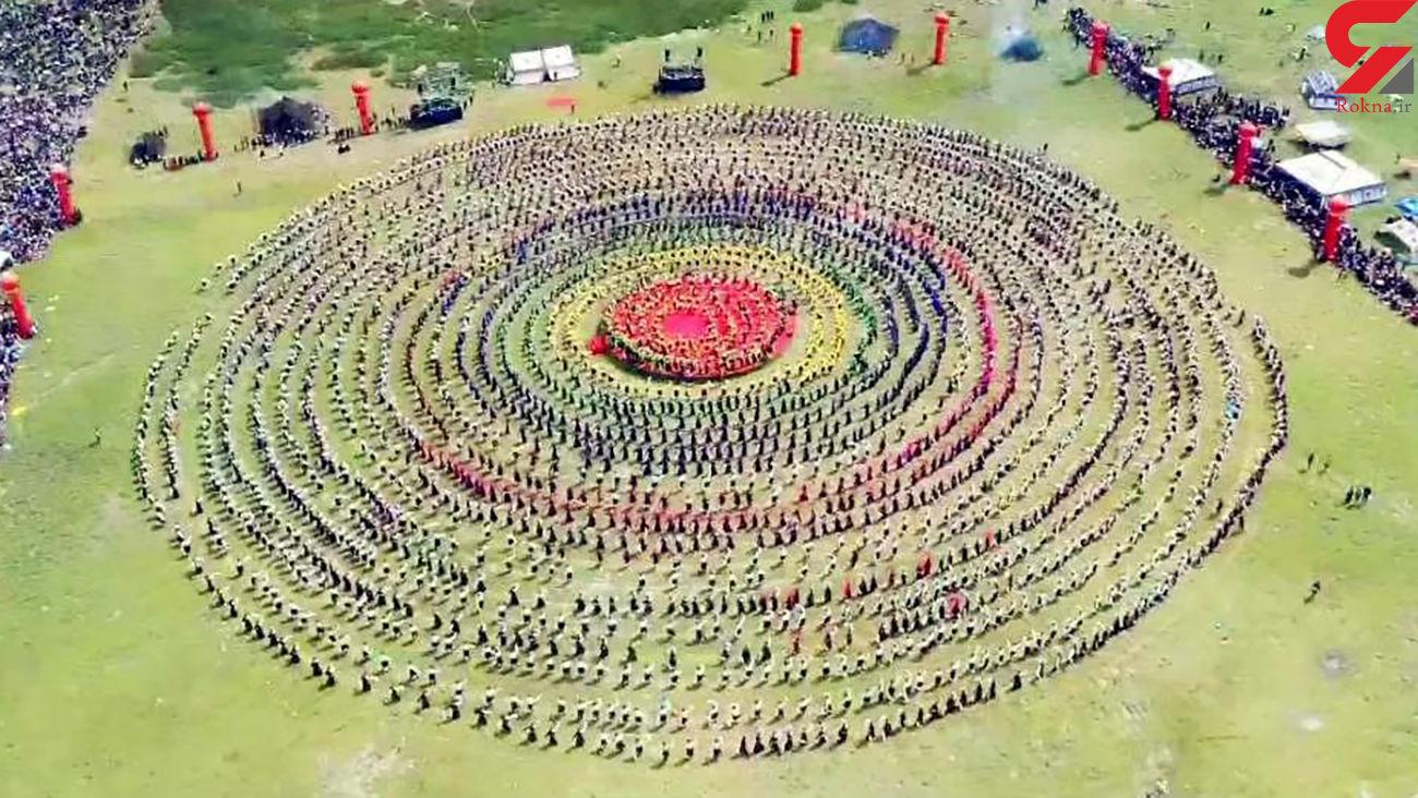 تماشای هنر بزرگترین گروه رقص جهان + عکس