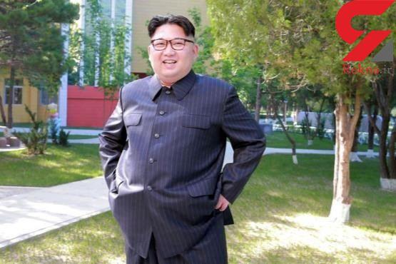 عکس / شلوار دهه شصتی رهبر کره شمالی