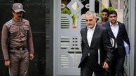 خروج مشاور رییس جمهور پس ازجلسه دادگاه