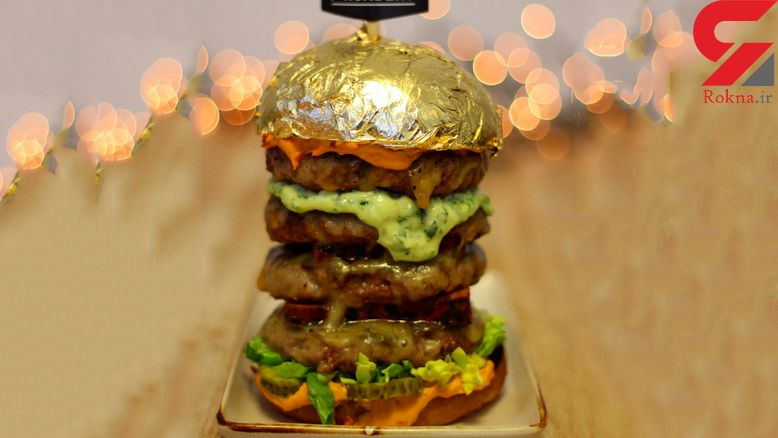 ساندویچ 24 هزار دلاری شاهزاده اماراتی با آمیزه طلا
