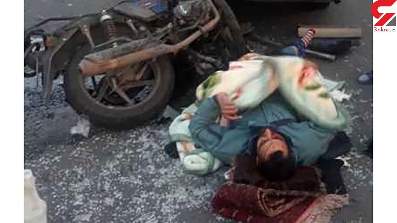 عکس جنازه مرد تهرانی در میدان قزوین / روز گذشته رخ داد