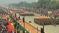 برگزاری مراسم سالگرد تاسیس جمهوری در هند+فیلم