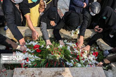 مراسم تشییع شهید فخری زاده با حضور فرماندهان عالی نیروهای مسلح صبح دوشنبه ۱۰ آذر ۱۳۹۹ در ستاد وزارت دفاع برگزار شد.