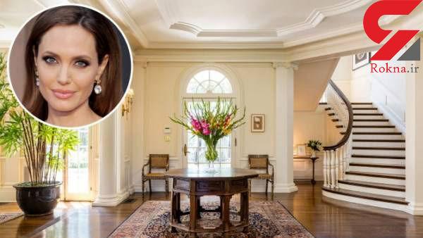 خانه ای که چشم آنجلینا جولی را گرفته کدام است + تصاویر