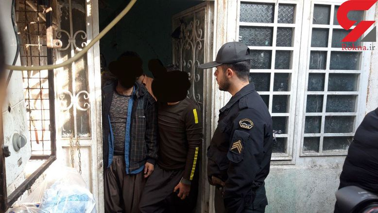 حمله پلیس به پاتوق های مجردی/عکس ها