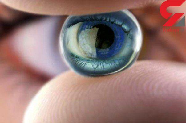 لنزهای چشمی که رنگ چشم را تیره تر جلوه می دهند