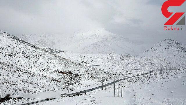 برف زنگ تعطیلی را در بروجرد نواخت