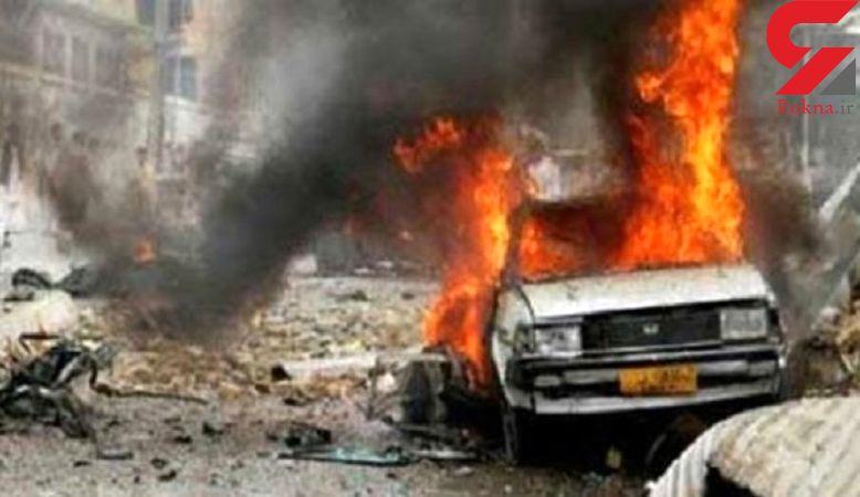 انفجار خودروی بمبگذاری شده در تکریت عراق
