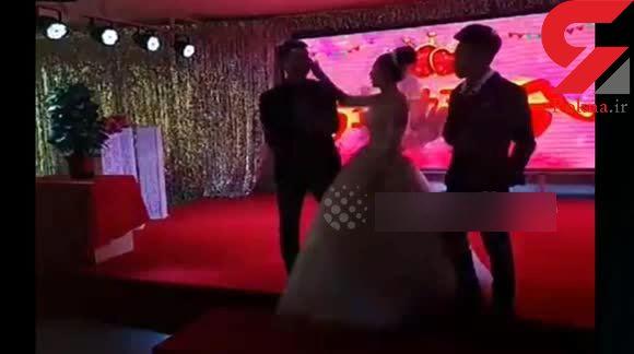 فرو ریختن ناگهانی سقف تالار هتل هنگام جشن عروسی! + فیلم و عکس