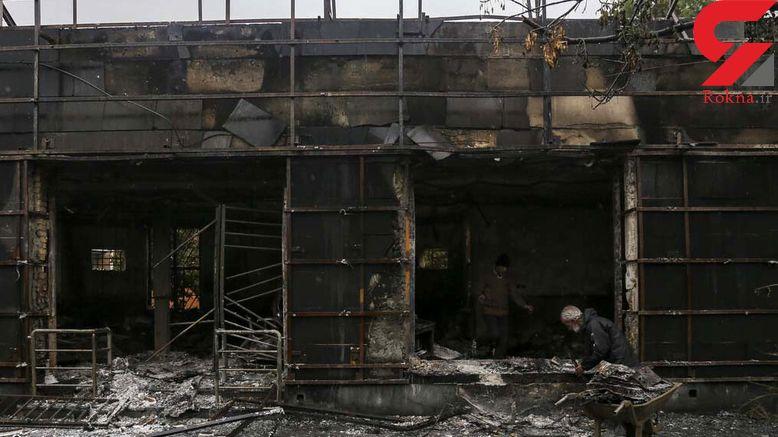 بازداشت عامل آتش زدن شعبه بانک مسکن در غرب تهران / او یک جوان 30 ساله بود