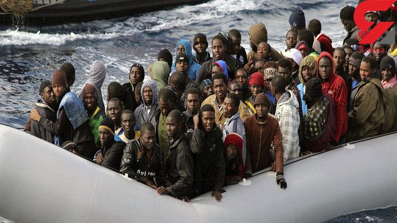 غرق شدن 100 مهاجر در نزدیکی سواحل لیبی +عکس