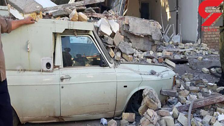 انفجار وحشتناک در خانه بهداشت شهر معلم کلایه + تصاویر