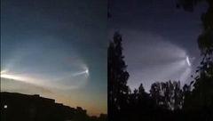 یک موشک روسی از آسمان مسابقات جام جهانی 2018 گذشت + عکس