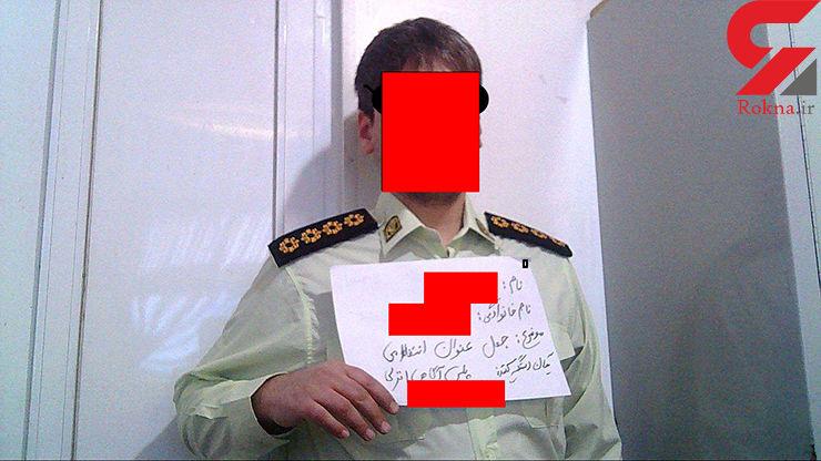 دستگیری پلیس قلابی در بندرانزلی+ عکس