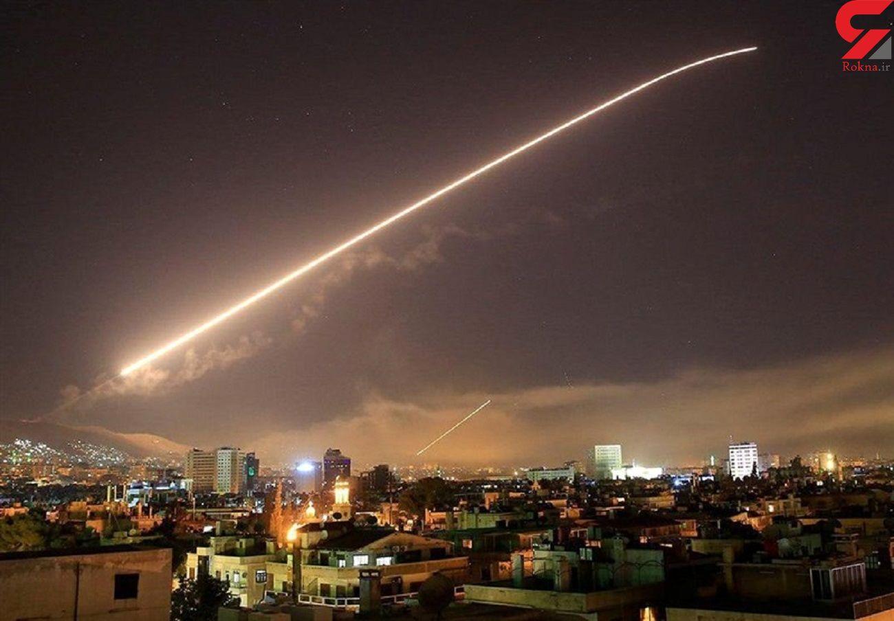 حمله هوایی اسراییل به جنوب سوریه + فیلم