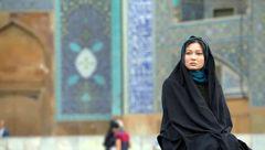 بازیگر زن مشهور ترکیه ای با پوشش چادر در ایران+عکس