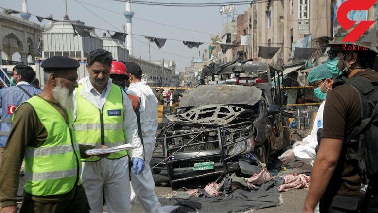 انفجار مرگبار در نزدیکی زیارتگاه صوفیان در لاهور+عکس
