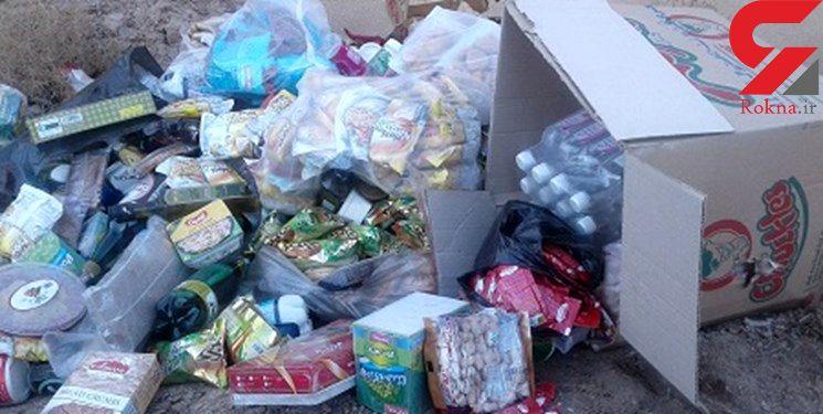 90 تن مواد غذایی فاسد در یاسوج جمع آوری شد