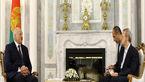 علی لاریجانی با رئیسجمهور بلاروس دیدار کرد