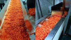 فاش شد / کارخانه معروف پفک از خوراک دام استفاده می کرد !