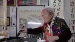 پیر زن 97 ساله چینی تصمیم دارد تا  150 سالگی درس بخواند