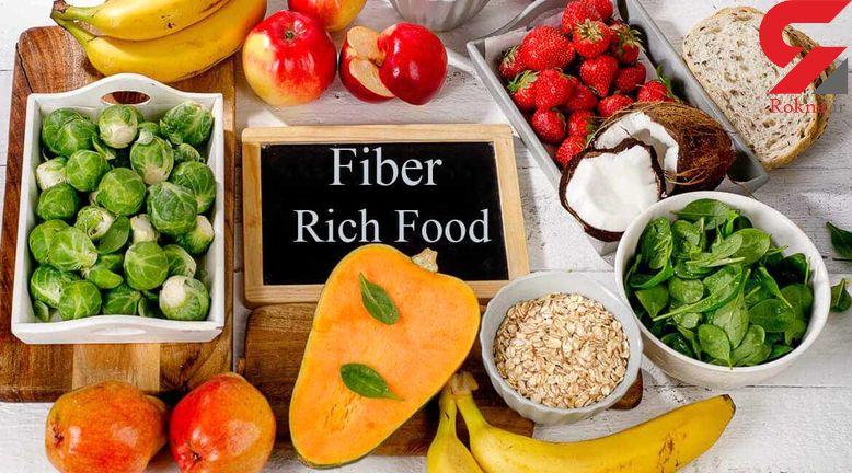 10 غذای فیبردار برای کنترل چاقی