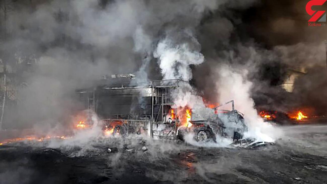 مدیر کل بازررسی وزارت کار در مورد آتش سوزی شکوهیه قم چه گفت؟